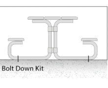 bolt down kit