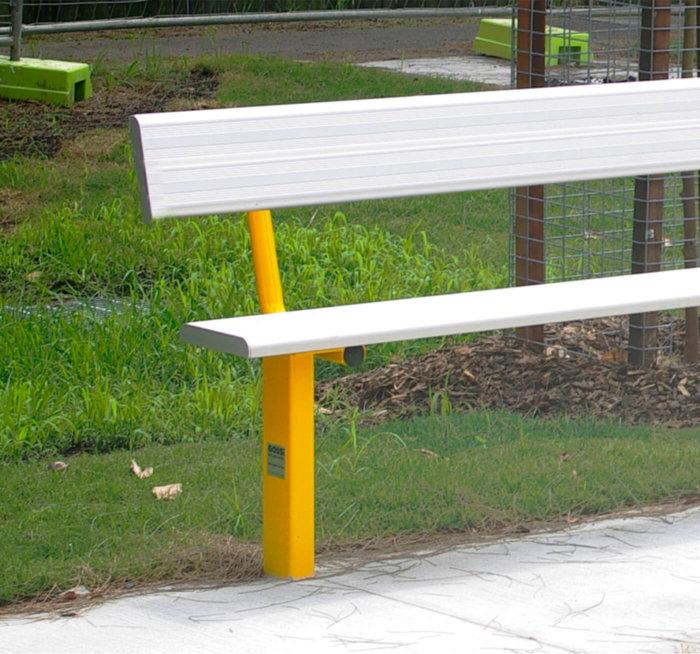 Sports Seat  Gossi Park  Street Furniture
