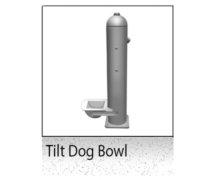 tilt dog bowl
