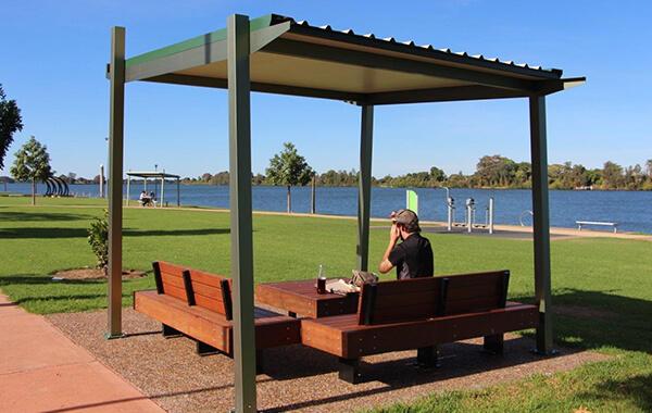 Akiva Park Shelter Gossi Park Amp Street Furniture