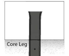 core leg