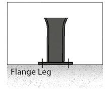 flange leg