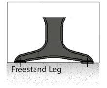 free stand leg