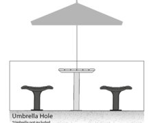 umbrella hole