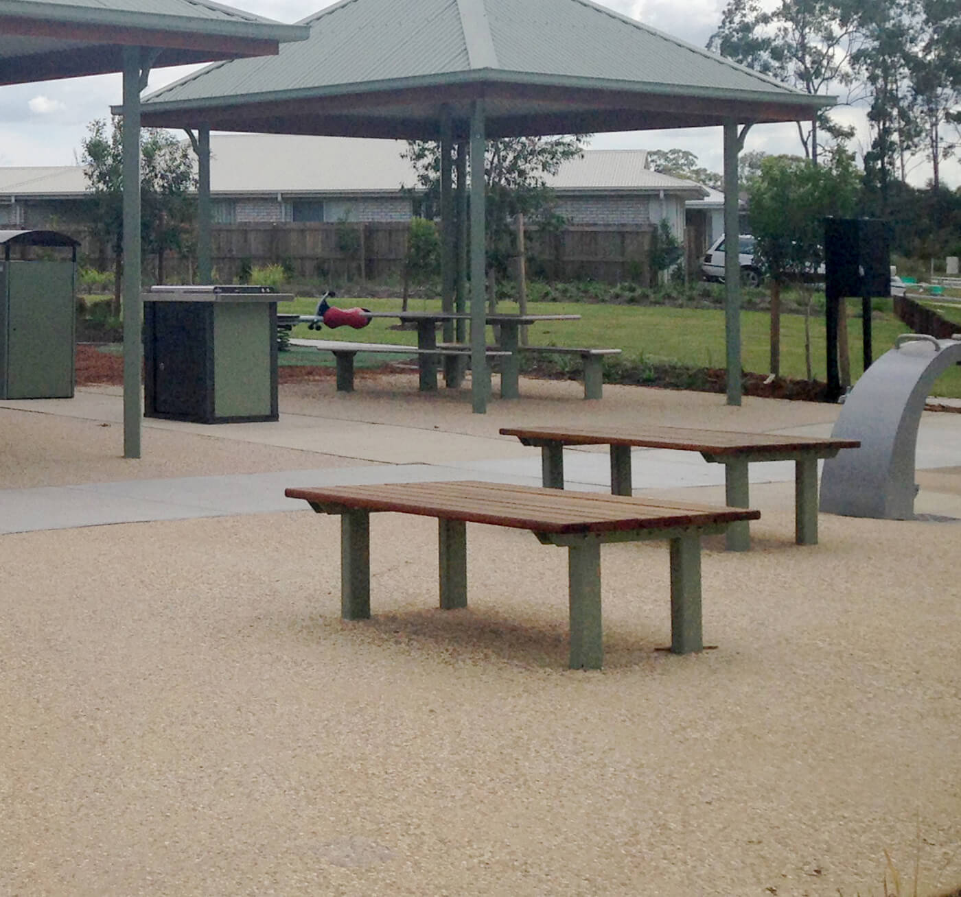 Timber Platform Gossi Park Amp Street Furniture